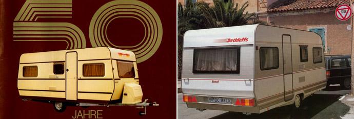 Dethleffs: ...80-90-е годы...