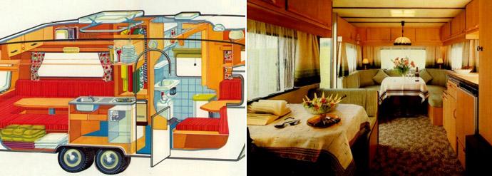 Dethleffs: современный тип салона
