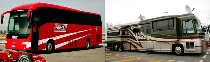 Моторхоумы: и сейчас не без автобусов