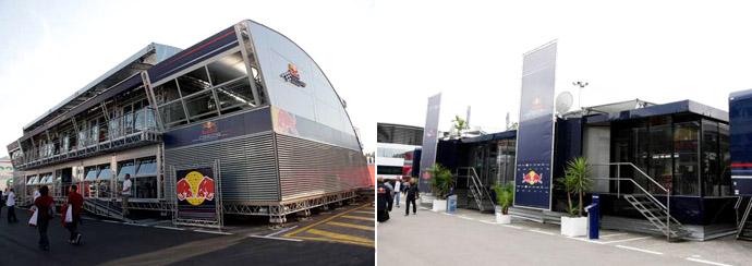Red Bull: сразу два моторхоума
