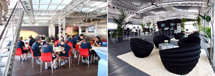 Red Bull: несколько кафе и баров