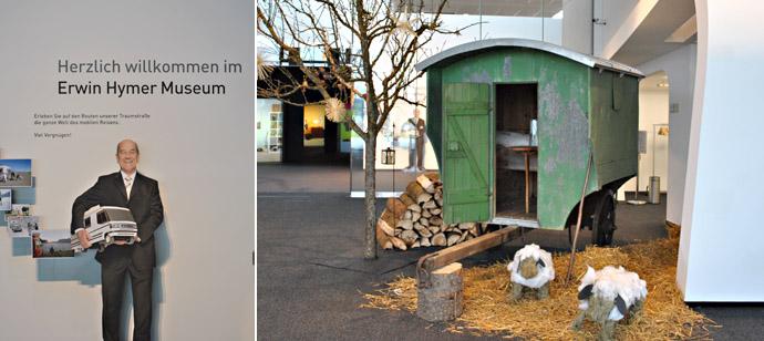Erwin Hymer Museum: начиная с пастушьих повозок...