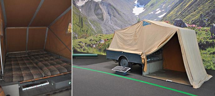 Sportberger Hausdabei: едва ли первая подобная палатка