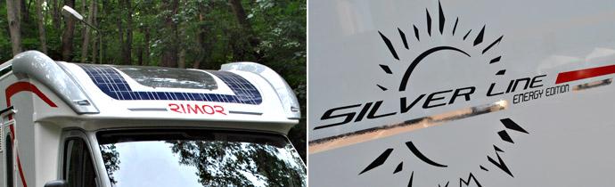 Rimor Silver Line Energy Edition: с зарядкой от солнца