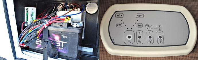 Rimor Silver Line Energy Edition: аккумулятор питает внутреннее освещение